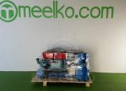 Máquina meelko para pellets madera 230 mm diésel