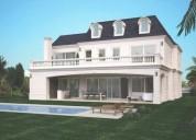 Espectacular casa estilo frances en lagos del golf 6 dormitorios