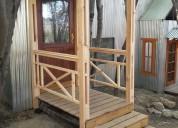 Construccion de salientes y aleros vivie en ushuaia