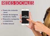 Community manager redes sociales diseno grafico paginas web en capital federal