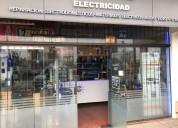 Fondo de comercio electricidad