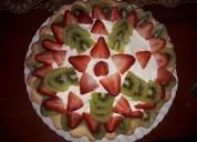 Tartas o tarteletas frutales