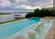 casa en alquiler de 6 ambientes al agua en barrio el golf nordelta 5 dormitorios
