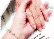 Cuidados de abuelos en azul