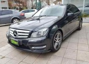 Mercedes benz clase c 250 kit amg 2013 4 puertas 72000 kms cars