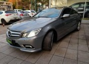 Mercedes benz clase e 3 5 coupe sport 2009 50000 kms cars