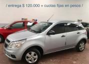 Chevrolet agile 1 4 ls cuotas fijas en pesos 50000 kms cars