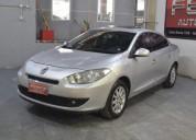 Renault fluence 2 0 16v gnc 2011 4 puertas color gris plata 119000 kms cars