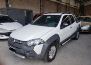 Strada adventure doble cabina full full impecable 90000 kms cars