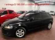 Audi a3 1 6 mt y cuotas 95000 kms cars
