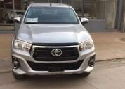 Toyota hilux srv 4x4 0km entrega 700 mil y cuotas cars