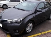 Toyota 1 8 xei l 14 pack cuero 2014 unica mano 60000 kms cars