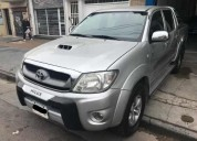 Toyota hilux 3 0 i srv cab doble at 4x4 cuero 230000 kms cars