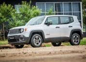 Jeep renegade 1 8 sport minimo anticipo 100 financiada 60 000 cars