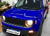 Jeep renegade 1 8 sport manual 0 km 2018 azul benevento cars