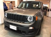 Jeep renegade sport longitude trailhawk 0km retira con 135 000 cars