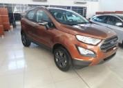 Nueva ford ecosport 2018 directo de fabrica anticipo y cuotas cars
