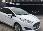 Ford fiesta kinetic titanium 2014 35000 kms cars