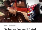 Vendo daihatsu 4x4 nafta 1 6 una joya cars