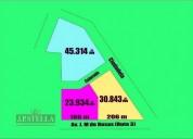 3 importantes fracciones 2 con frente a ruta 3 km 38 virrey del pino en la matanza