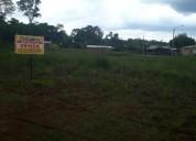 Se vende terreno en el campora sobre ruta en leandro n. alem
