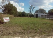 Vendo terreno en paraná