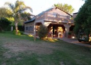 Casa en comuna san roque alquiler por temporada dias 2 dormitorios