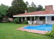 Carlos paz casa y dptos villa del lago 3 dormitorios
