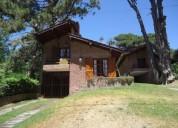Villa gesell chalet en 135 entre 6 y 7 solo familias 4 dormitorios