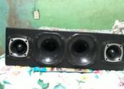 Requeta con dos tuister bala y 2 corneta audio