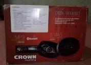 Oferta combo crown mustang audio