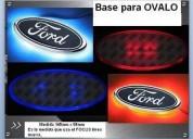 Ford logo iluminacion en todo el contorno envios al interior otros