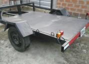 trailer cuatri moto multiuso casas rodantes - trailers, contactarse.