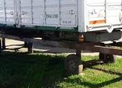 Carroceria bi vuelco con toma y bomba casas rodantes - trailers