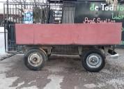 Acoplado para carga casas rodantes - trailers. oportunidad.