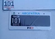 Patentes para trailers casas rodantes