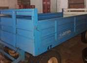Acoplado con carpa de 2mt x 4mt barandas casas rodantes - trailers