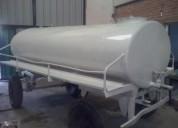 acoplado tanque 3 000 de combustible casas rodantes - trailers, contactarse.