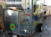 Carro comida equipado food truck luz gas casas