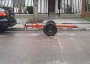 Trailer moto 1 moto casas rodantes - trailers, contactarse.
