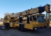 Grua de 35 toneladas maquinaria