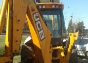 Retropala jcb ano 2009 4x2 maquinaria