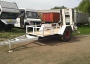 Vendo trailer para 9 000 kg maquinaria