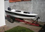 Bote motor yamaha de y trailer barcos y lanchas