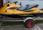 Excelente moto de agua yamaha waverunner high output 1 8 65 hs
