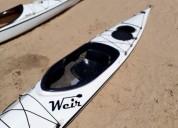 Kayak simple weir