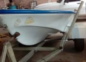 Vendo bote lagunero con o sin motor barcos y lanchas