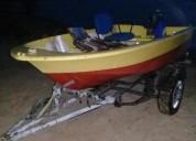 Vendo bote con motor y trailer barcos