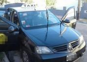 Transfiero taxi completo auto y licencia en mar del plata