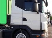 Scania 6x4 2010 empresa vende unidades en perfecto estado en general san martín